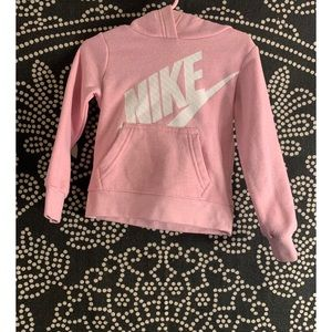 Used Nike Hoodie Pink for Girl Size 2T